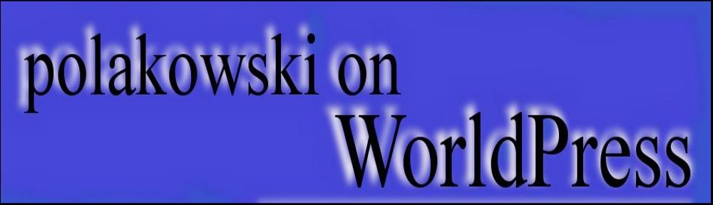 Frank Polakowski's Blog